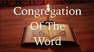 Congregation of the Word Livestream