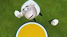Самая неунывающая овечка:)