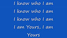I KNOW WHO IAM