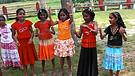 Happy Children in a Christian School in Kerala