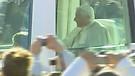 Salida  de Australia del Papa Benedicto