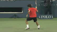 Roger Federer's Best Shot during US Open 2009