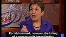 Arab Woman Rejects Muhammad