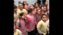 Uruguayan Children in Worship at Mision Vida