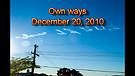 Own ways - December 20, 2010