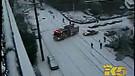 Car Crash In Snow - Stupid Funny