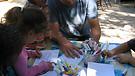 Israeli Pre-schoolers with Ben Marti...