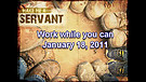 Work while you can - January 18, 2011