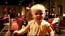 Baby Worshiping at Church