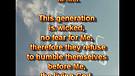 Humble or arrogant – August 30, 2011