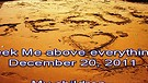 Seek Me above everything – December 20, 2011
