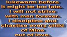 The lukewarm – April 09, 2012