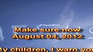 Make sure now – August 04, 2012