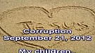 Corruption – September 21, 2012