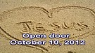 Open door – October 10, 2012
