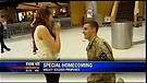 This Soldier Proposes to His Girlfriend in the M...