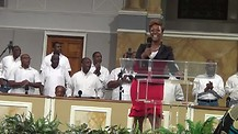 Jessica Reedy sangs at Elizabeth Baptist Church in Atlanta GA