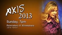 Axis 2013: Jane Hamon - Sunday Evening - 7pm