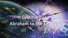 The KEYS of TIME (6): From Abraham to the Exodus...