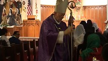 Part 2: Holy Mass on Ash Wednesday at the Shrine of Our Lady of Frechou, Chicago.