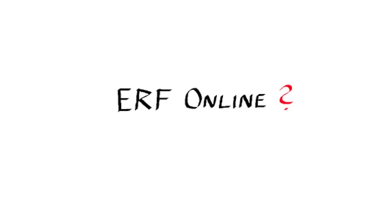 What are we doing at ERF Online?