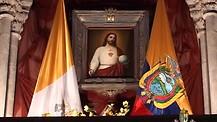 Basílica del Sagrado Corazón de Quito en Ecuador.