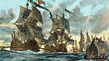 The Spanish Armada's Defeat and it's effects on America.