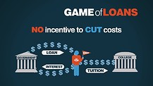 Student Loans, the reason for the high cost