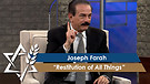 Joseph Farah: Restitution of All Things (January...