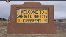 Beautiful Santa Fe, New Mexico