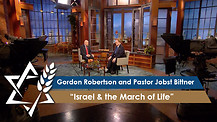 Gordon Robertson and Pastor Jobst Bittner | Israel & the March of Life