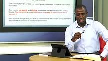 Spiritual Foundations Part 2—Dr. Kazumba Charles