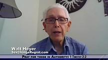 Transgender returns to Christ and godly manhood: Walt Heyer
