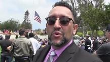 Jewish aspects of America's founding- Sephardic Rabbi at US Military Cemetery