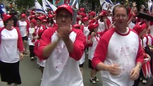 Celebrate Israel Parade in NYC- Part 2- Americans' support Israel '11