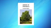 Book Presentation: 'Growing up spiritually' by Derek Walker