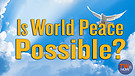 Is World Peace Possible?