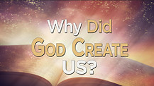 Why Did God Create Us?