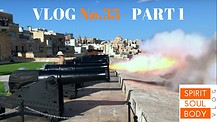 35_1. FIRING CANON No. 2 - VLOG No 35 - My Malta Experience, PART 1