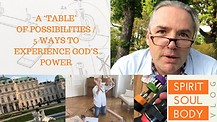 "15. ""A 'TABLE' OF POSSIBILITIES & 5 WAYS TO EXPERIENCE THE POWER OF GOD""- RORY'S VLOG 15 - 29th Apr"