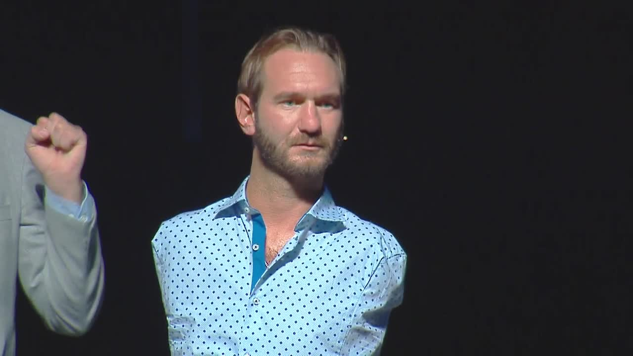 Nick vujicic in Bosnien