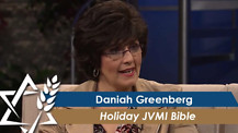 Daniah Greenberg | Holiday JVMI Bible
