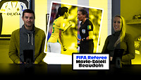 FIFA Referee Marie-Soleil Beaudoin