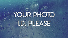 Your Photo ID Please