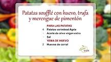 Come Bien - Patatas Souffle con Huevo y Trufa