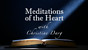 Meditations of the Heart #7: To Kneel on Not