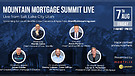 Mountain Mortgage Summit live 2020 from Salt Lak...