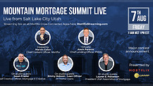 Mountain Mortgage Summit live 2020 from Salt Lake City Utah.