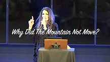 Why Did The Mountain Not Move? Apostle Cathy Coppola