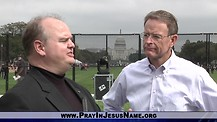 Tony Perkins with the Family Research Council at The Return